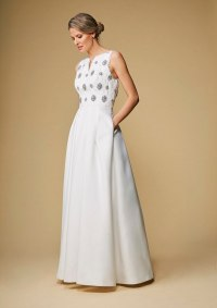 Affordable high street wedding dresses for older brides ...