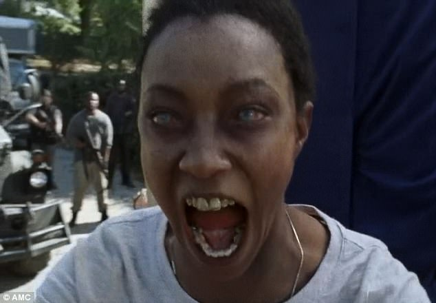 Image result for Sasha death walking dead
