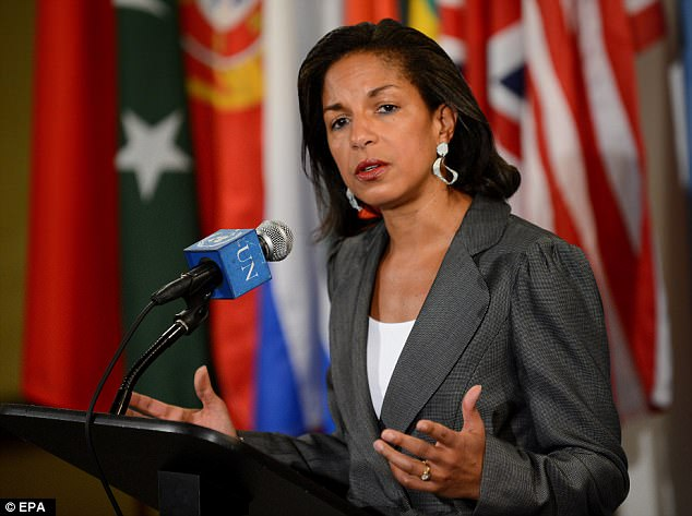 Former U.S. National Security Advisor Susan Rice asked intelligence agencies dozens of times to 'unmask' the names of Donald Trump associates that were redacted from raw intelligence reports – and she wasn't the only one