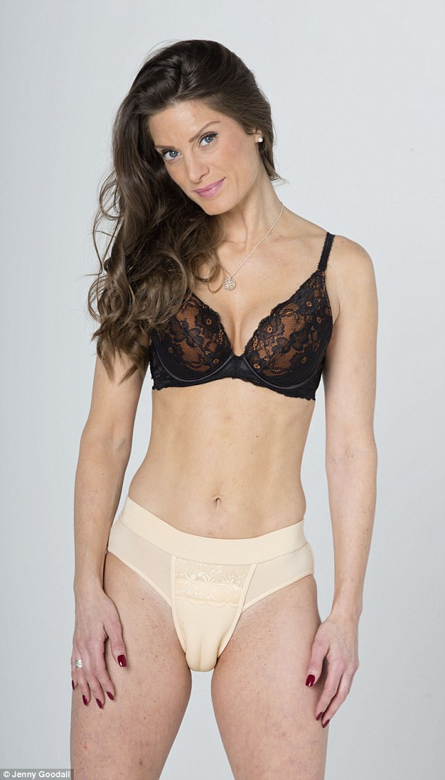 Model Georgina From Norwich Tried Out Camel Toe Knickers Which Are A Fashion Craze In