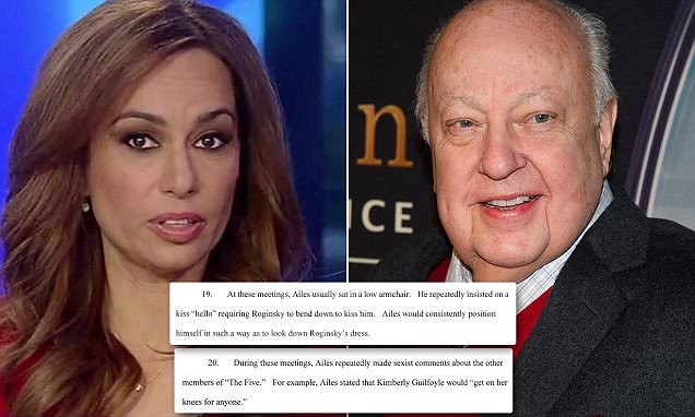 Fox News contributor files sexual harassment suit