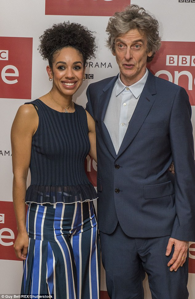 Image result for pearl mackie wearing dress