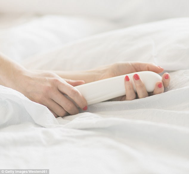 According to the experts, because sex toys can sometimes be made from low-grade materials and plastics, they could have a negative health effect on people (stock photo)