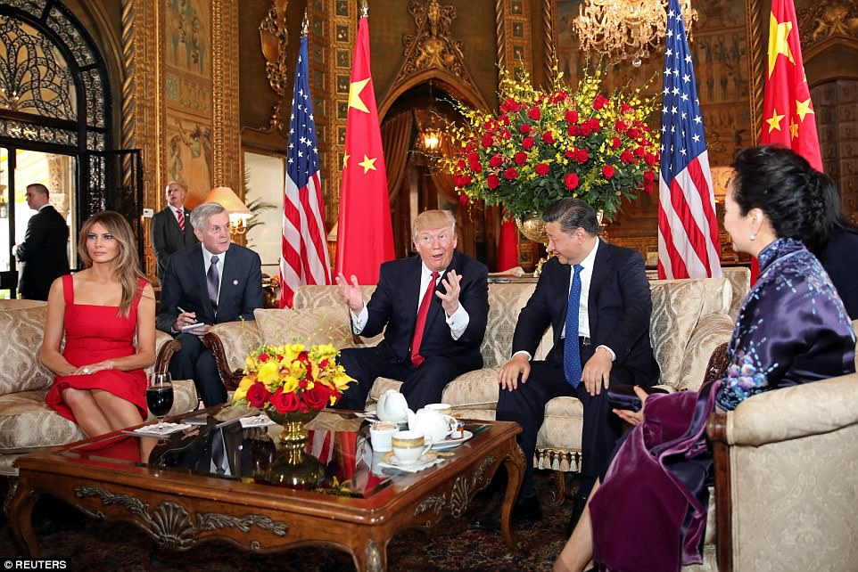 Trump said he wants to raise concerns about China's trade practices and urge Xi to do more to rein in North Korea's nuclear ambitions in the talks, though no major deals on either issue were expected