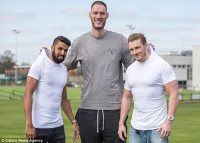 Giant 7ft 7in basketballer becomes Britain's tallest man