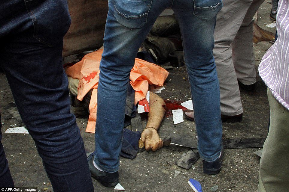 At least 11 people were killed in the second attack which hit the northern port city of Alexandria