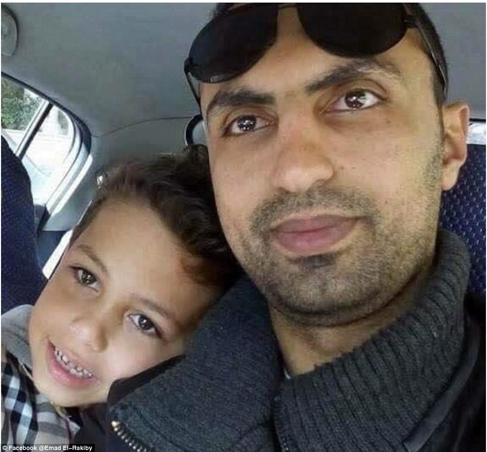 Muslim officer Emad El-Rakiby, 33, was killed when he prevented a suicide-bomber from entering St. Mark's Church in Alexandria