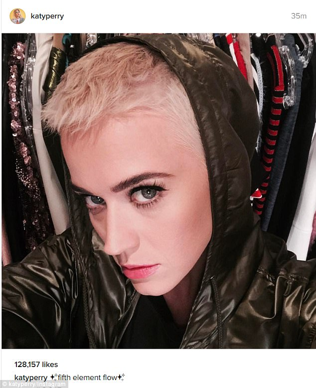 Katy Perry Looks Dramatically Different With Buzz Cut
