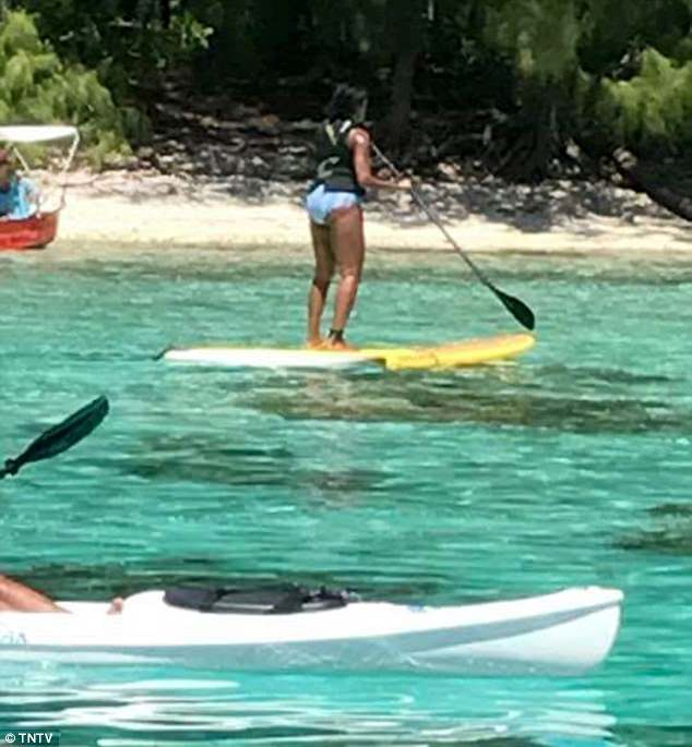Former President Obama and wife Michelle were seen enjoying some island activities this weekend, as their French Polynesian vacation wrapped up