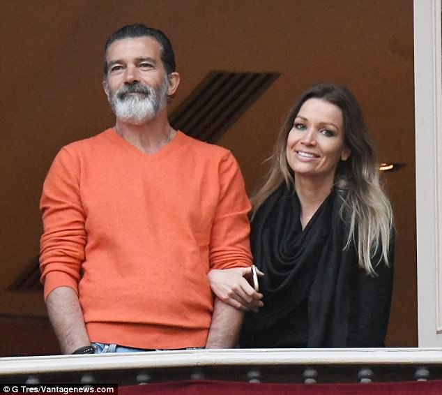 Antonio Banderas and his girlfriend hang out in Malaga  Daily Mail Online
