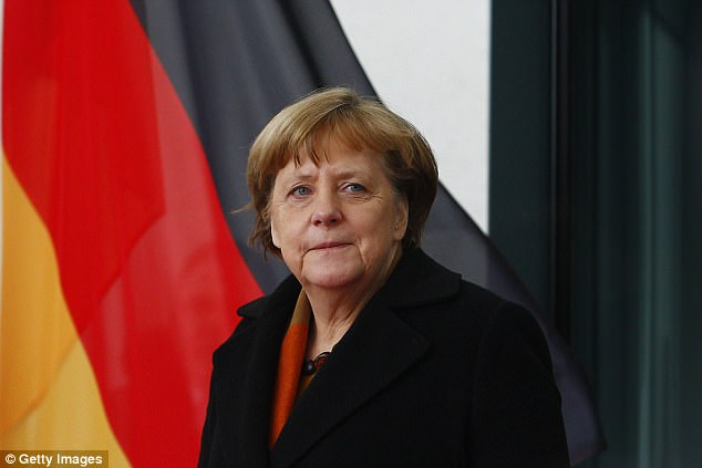 In December last year, German Chancellor Angela Merkel called for face coverings to be banned 'wherever it is legally possible'
