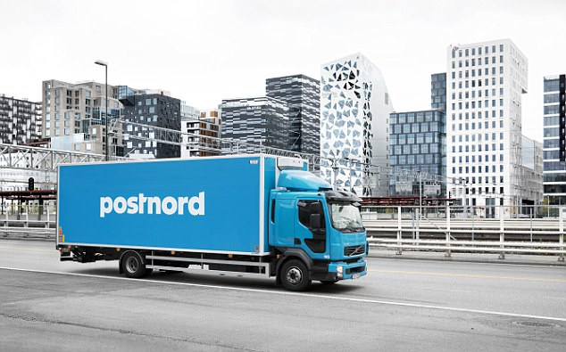 PostNord is said to have stopped the deliveries in the Rinkeby borough of Stockholm - an area of Sweden which has been plagued with riots in the past