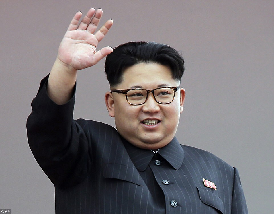 It will be taking part in exercises aimed at removing North Korean despot Kim Jong-un from power