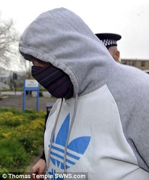 Mohammed Imran Ibar arrives at Kirklee's Magistrates Court