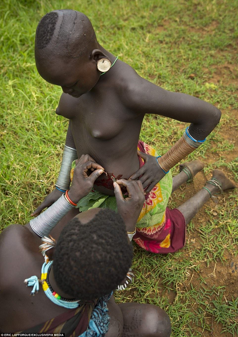 Girls Slashed To Be Beautiful In Ethiopian Scar Ceremony