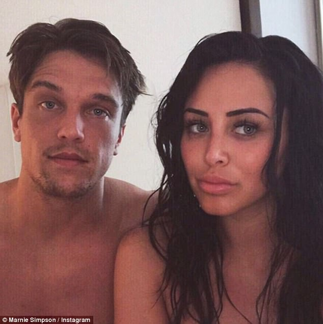 Make or break: Despite Marnie revealing she and Lewis had 'salvaged a friendship' on their Dubai holiday, she has since claimed the trip made her realise their relationship was 'not worth fighting for'
