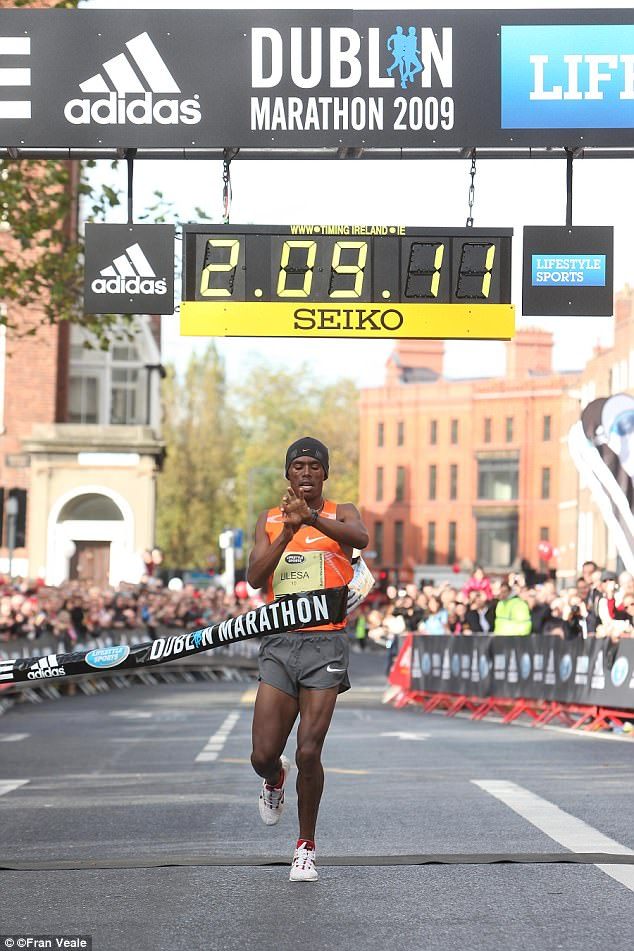 The 27-year-old is one of the favourites for next Sunday's London Marathon