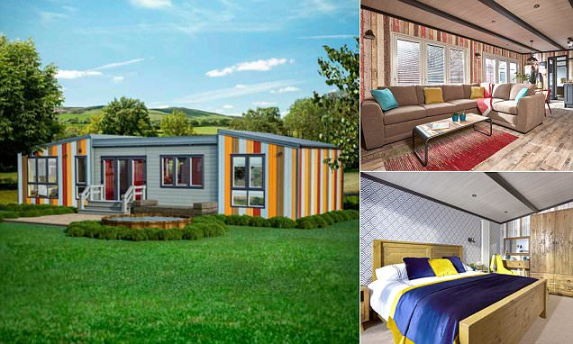 Away Resorts introduces the TriBeCa caravan  Daily Mail