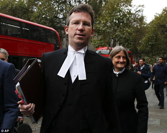 Attorney General Jeremy Wright, a Tory MP, has now formally asked to join future hearings and for the attempt to prosecute to be rejected