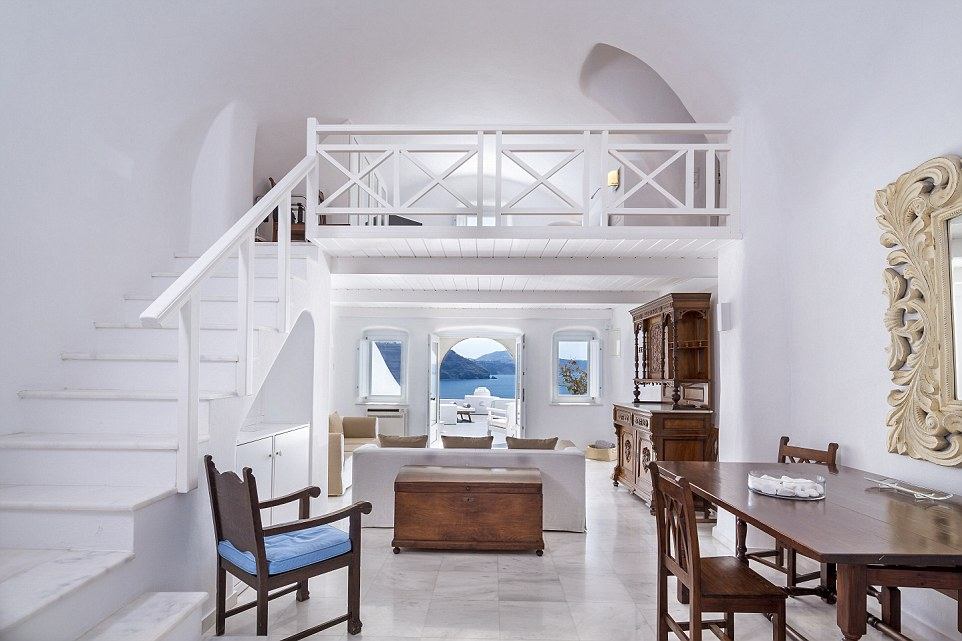 Grand: Dig a bit deeper and you can luxuriate in true splendour in one of the hotel's multi-tiered suites