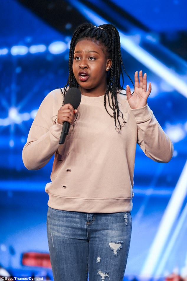 Co-judge Amanda added: 'I am thrilled for you! It was mind blowing... I can't believe it!'