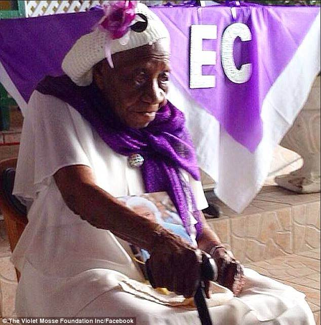 Violet Mosse-Brown, also known as Aunt V, is now the oldest living person in the world at 117 years and 38 days