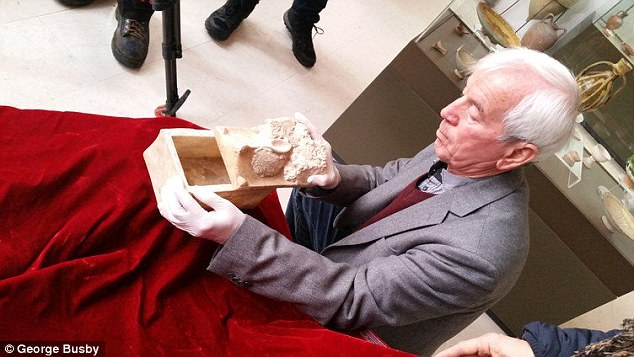 Among the artifacts the team investigated are the 'bones of John the Baptist,' which were discovered in Bulgaria in 2010