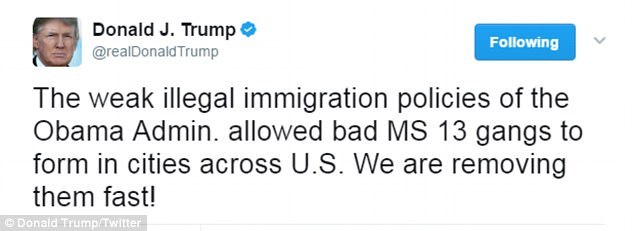 Image result for photos of president obama and ms 13 gang