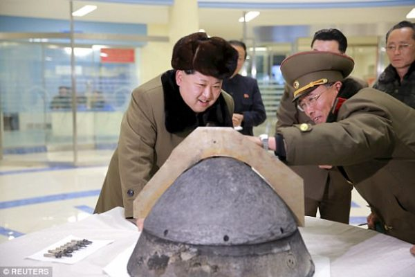 Kim Jong-un has threatened the US with a 'super-mighty preemptive strike' and warned America: 'Don't mess with us'