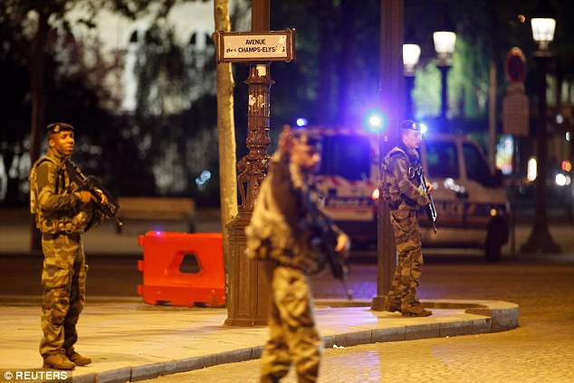The shooting in Paris tonight is the latest of a series of attacks that have struck the French capital