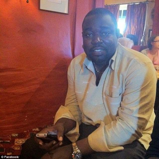 The affair began in July 2012 after Patient A was admitted to the A&E  when she complained of being unable to feel her legs or feet properly and she met Dr Kwame Somuah-Boateng (pictured)