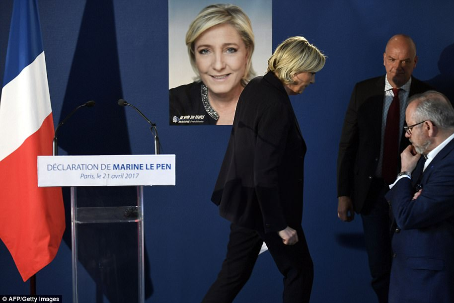 Voters could flock to far-right candidate Marine Le Pen following the latest terror attack
