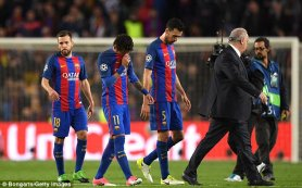 Image result for Barca must beat Real Madrid to keep title hopes alive - Enrique
