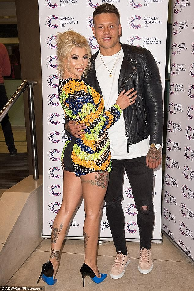 Exciting: Olivia is keeping tight-lipped about details of the wedding, but admitted that it will be in the UK so the pair's friends and family don't miss out, and they will plan a 'fab honeymoon abroad' after
