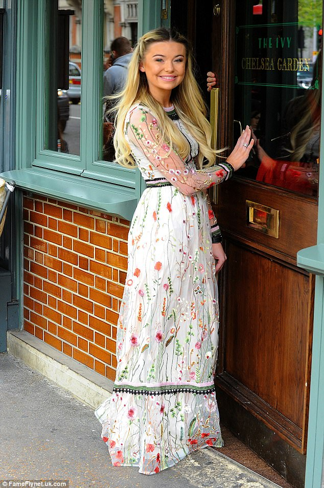 MICs Georgia Toffolo Displays Quirky Style In Boho Dress