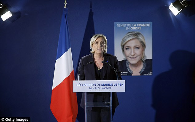 Mme Le Pen has worked hard in recent years to distance both herself and her party from the racist rantings of her father, FN founder Jean-Marie Le Pen