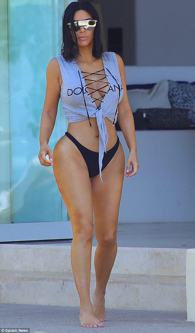 Kim Kardashian yongeye gushotora abagabo