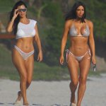Kim Kardashian Celebrate Kourtney's Birthday In Mexico