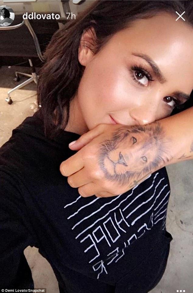 Demi Lovato Inspired Tattoos
