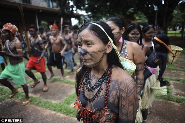 The anumeric Minduruku people live in the southwestern part of the state of Pará and the southeastern corner of the state of Amazonas