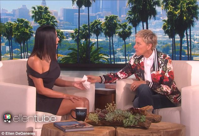 Kim¿s pathetic new interview with Ellen DeGeneres, the world¿s  chief celebrity sycophant, has tipped me over the edge. Kim cries saying how the robbery changed her, and now she's not materialistic
