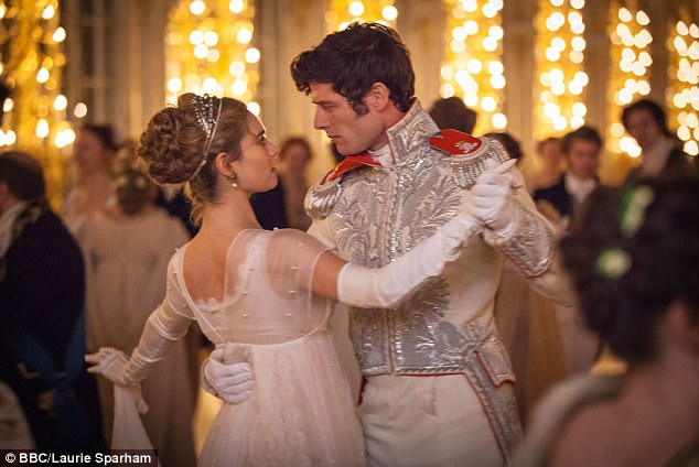 What a woman: She also played the lead role in Disney's Cinderella alongside James Norton