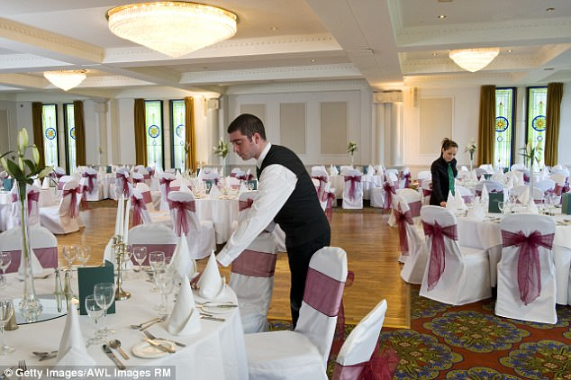chair covers giant tiger cell phone katie hopkins begs brides to rein in their tacky weddings daily be fair i probably wouldn t buy you lunch certainly not at