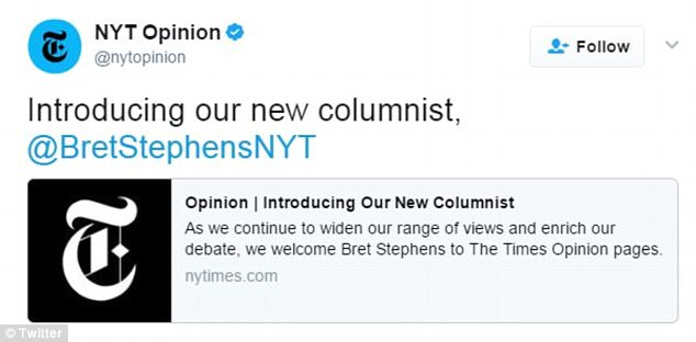 As soon as his debut column dropped, the nasty comments came flowing in and many vowed to cancel their NY Times subscriptions
