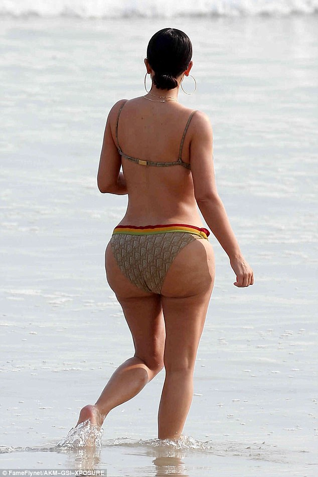 Kim Kardashian West's bottom made headlines again last week as photographs taken on a Mexican beach revealed the cellulite that is usually airbrushed carefully out of images