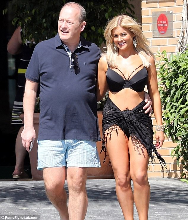 In March, Danczuk was spotted with his new fiancee,Charlene Meade, who he hoped to marry in Parliament