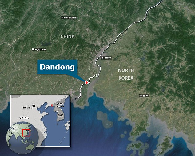 Dandong, which has a population or more than two million people, is crucial to North Korea's economy because a significant portion of the nation's international trade passes through the city