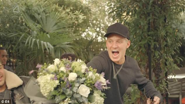 A boy's best friend:Jamie and Sam are friends again, and to prove it he brings him a bunch of hydrangeas. If Sam were Madonna he'd say he loathed them