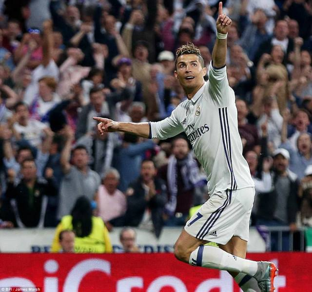 Ronaldo's hat-trick was too much for Atletico, who had no answer to the Real Madrid man's deadly finishing