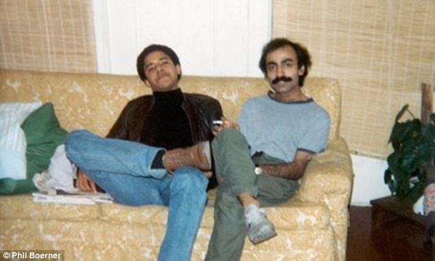 Drug link: Obama would party with three friends including Sohale Siddiqi (pictured) with whom he would do cocaine. Siddiqi, Hasan Chandoo, Imad Hussain took 'lots of cocaine', the new biography of Obama says